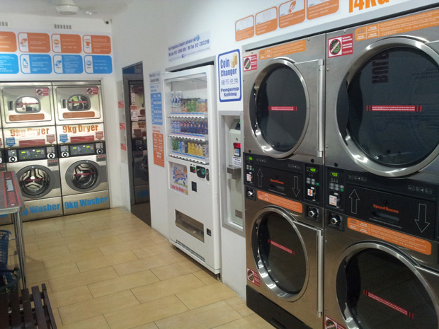 Bubble Laundrette Coin Operated Laundry Business Franchise