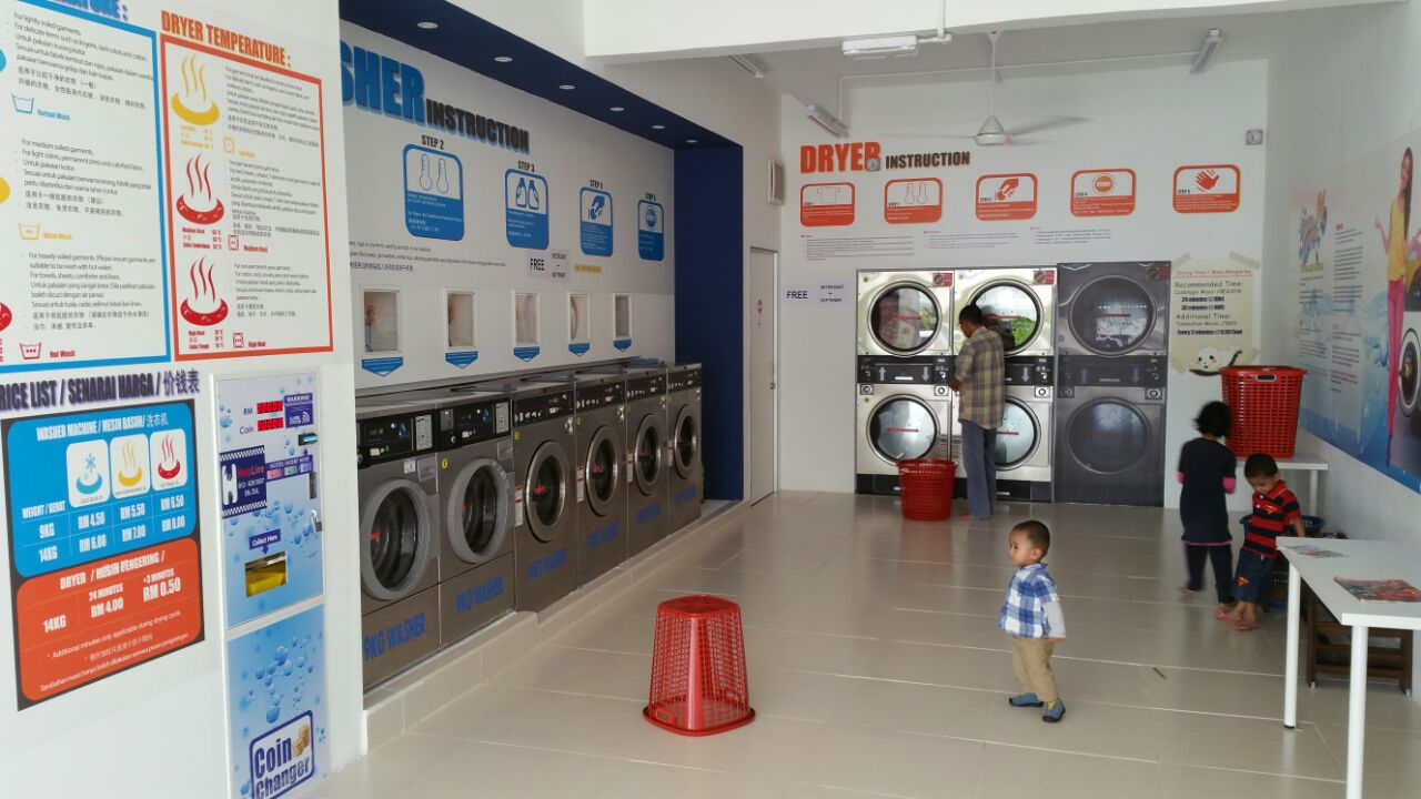 how to start a coin operated laundry business in malaysia